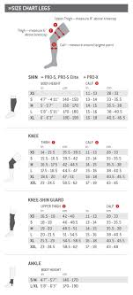 Kali Knee Pads Size Chart G Form Pro X Knee Shin Pads Black Yellow