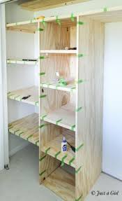 amazing marvelous small closet shelving small closet shelving diy crafting