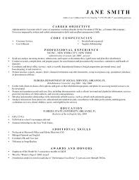 Examples Of A Objective For A Resume Dew Drops