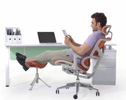 office chair footrest. office recliner ergonomic mesh chair luxury executive with footrest
