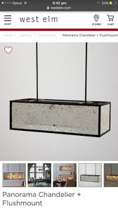 west elm panorama chandelier ceiling lights gumtree australia burwood area enfield 1161906659