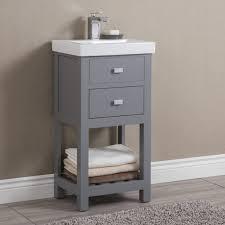 single bathroom vanity new zipcode design knighten 18 single bathroom vanity set reviews
