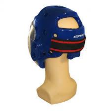 Купить <b>Шлем</b> боксерский <b>с</b> маской Fight Expert цв.<b>синий р</b>.<b>S</b> ...
