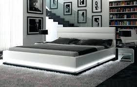 White Leather Bedroom Furniture Headboard | Stluciauhc.org