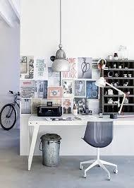 scandinavian home office. industrial scandinavian home office
