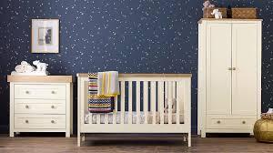 White Nursery Furniture Set