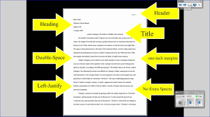 college writing format college paper format expin franklinfire co