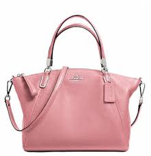 Coach Pebble Leather Small Kelsey Satchel - Shadow Rose F34493, 890,  Handbags, Coach