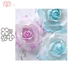 Mai <b>5Pcs</b>/<b>set Flower Metal Cutting</b> Dies Stencils for DIY ...