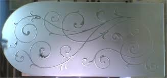 acid etching glass