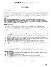 Sample Resume Usa Best Of Sap Administration Sample Resume Unique Technical Consultant Cv