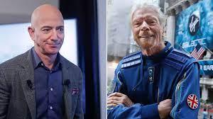 ريتشارد برانسون يعود من الفضاء   أول تعليق من المنافسين جيف بيزوس وإيلون  ماسك (صور)