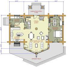 medium log cabin plans 10