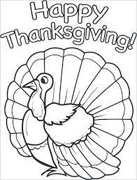 Thanksgiving Turkey Coloring Pictures Free Printable Thanksgiving