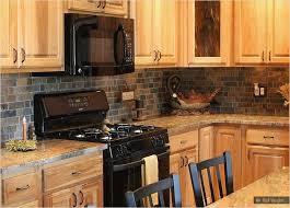 kitchen backsplash ideas for light oak cabinets collection granite countertop oak kitchen cabinets slate rusty