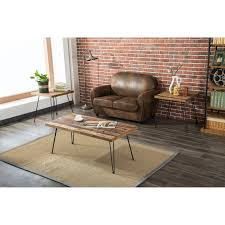 Shop Carbon Loft Lee Reclaimed Fir Eastwood Table Free Shipping On
