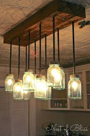 jar light fixture decorating with mason jars o lots of creative ideas and tutorials including this mason jar chandelier by nest of bliss