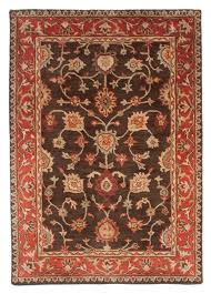 medium size of red area rugs traditional royal wool hand tufted area rug 5x8 brown red