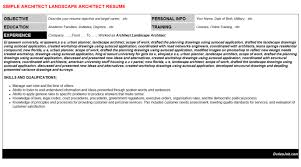 sample architect resume cover letter architecture cover letter
