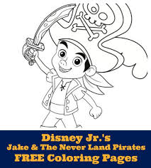 yo ho let s go jake and the never land pirates free coloring