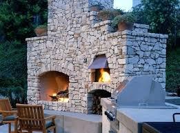 outdoor fireplace pizza oven combo phoenix pizza oven fireplace combo completed outdoor