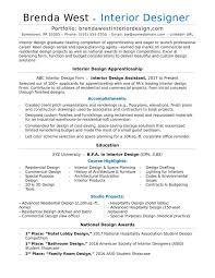 Sample Kitchen Designer Resume Interior Design Resume Sample 4853117000022 Kitchen Designer