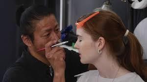 airbrush makeup work vignettes cosplay tokyo