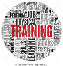 Training And Education Related Words Concept In Tag Cloud