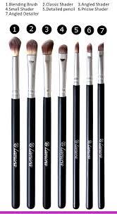 amazon eye brush set eyeshadow eyeliner blending crease kit best choice 7 essential makeup brushes pencil shader tapered definer vegan