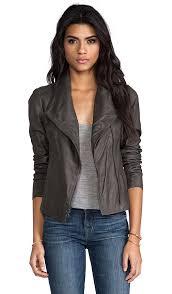 paper leather jacket paper leather jacket vince