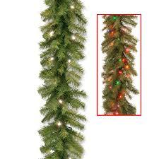 White Garland No Lights Pin On Christmas Decor
