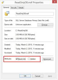 The Method To Set And Remove The Read Only Property Of A File