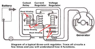 design and function of classic car voltage regulators alternator voltage regulator circuit diagram voltage regulator diagram