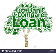 How To Compare Loans Word Cloud Concept Text Background