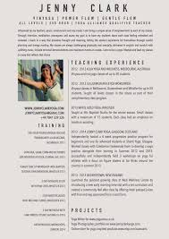 Yoga Teacher Resume New Yoga Teacher Resume Sample Yoga Pinterest