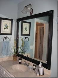 black framed bathroom mirrors. Easylovely How To Frame A Bathroom Mirror With Molding B67d In Perfect Home Decor Arrangement Ideas Black Framed Mirrors T