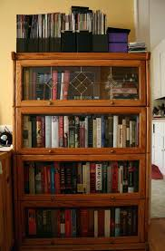 bookcases with sliding glass doors oak bookcase