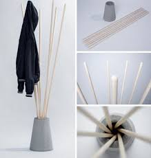 Free Standing Coat Rack Design Plans Fascinating Easy To Turn Into A DIY Storage Glee Sticks Stone Free