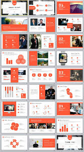 Design Presentation Templates 27 Creative Infographics Annual Report Powerpoint Template