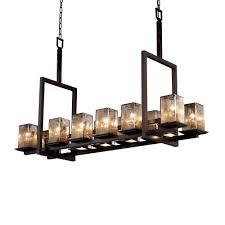 montana 12 up 5 downlight bridge chandelier short