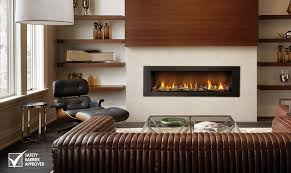 direct vent fireplaces are factory built and their venting can be routed directly through a wall