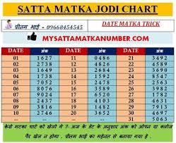 Kalyan Daily 4 Ank Life Time Chart Satta Matka Matka Satta Matka Game Alyan Matka Matka