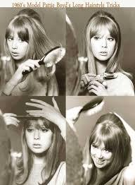 patti boyd 1960s hairstyle tricks for long hair
