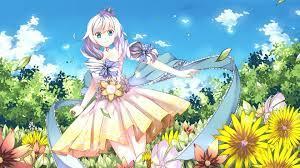Hình nền anime cute cực dễ thương nhất full HD | アニメの女の子, 可愛いアニメガール,  芸術的アニメ少女