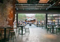 garage door glass for restaurant Google Search indoor door