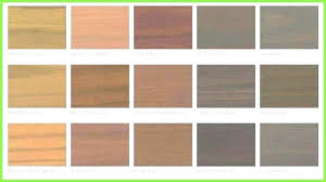 Behr Semi Transparent Wood Stain Color Chart Behr Stains For Wood Rentongaragedoors Co