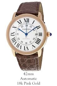 buy cartier w6701009 ronde solo automatic mens watch £6 120 00 cartier w6701009 ronde solo automatic mens watch