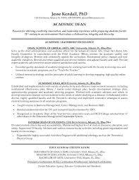 Academic Curriculum Vitae Filename My College Scout
