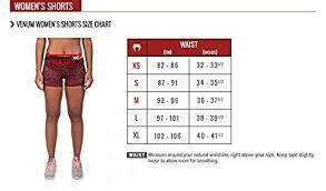 Venum Shorts Size Chart Venum Womens Essential Shorts