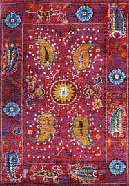 area rugs santa fe sari silk hand knotted red rug